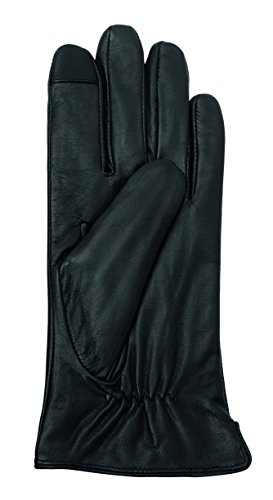 Smart Hands Damen Handschuhe Glasgow, Einfarbig, Gr. Large, Schwarz (black 000) Smart Hände