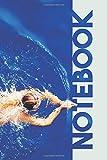 Notebook: Swimming Swim Club Pretty Composition Book for nadando coach