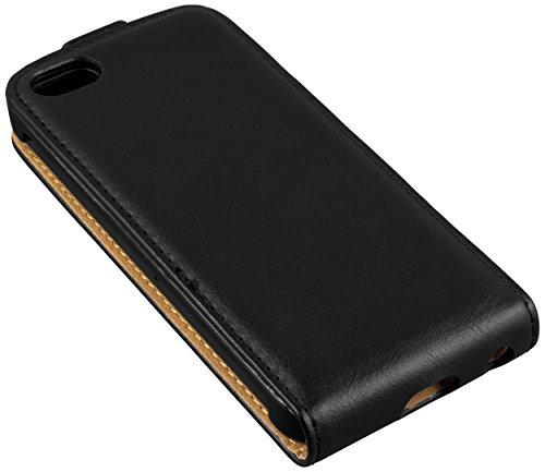 mumbi PREMIUM Etui à clapet pour iPhone 6 6s - Étui de protection à rabat Flip Style noir Noir