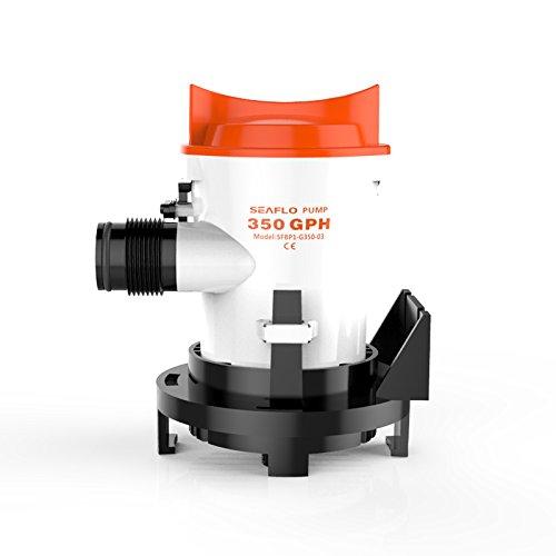 Seaflo 350GPH 12V Automobile Bilge Pumpe Tauchpumpe für Marine Wohnmobil-Teich Wasser System - Tauchpumpen, Klein ölwanne Pumpe,