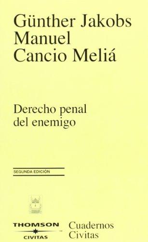 Derecho penal del enemigo (Cuadernos) por Günther Jakobs