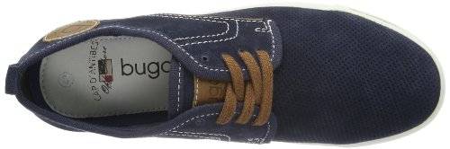 Bugatti F50093 Herren Sneaker Blau (dunkelblau 425)