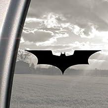 Pegatina de vinilo para coche, diseño de Batman, color negro