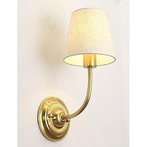 LQK-E14 singola testa personalità lampada da parete in metallo industriale