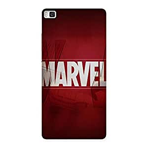 Neo World Red Comic Back Case Cover for Huawei P8