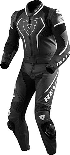 Revit VERTEX PRO Herren Motorrad Lederkombi 2-teiler - schwarz weiss