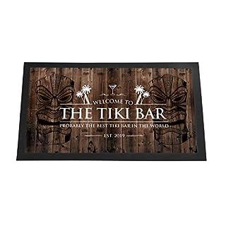Artylicious Tiki Bar Runner (Holzeffekt) Tiki Bar Runner