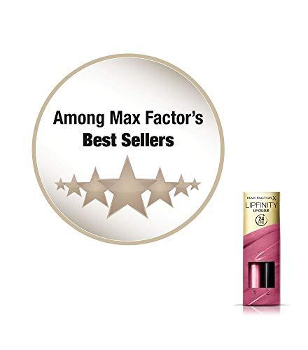 Max Factor Lipfinity Lip Colour Tinta Labbra Matte Lunga Durata e Gloss Idratante, Applicazione Bifase, 40 Vivacious