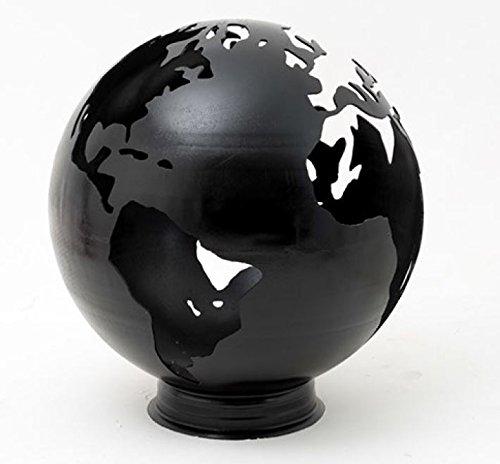 Stahl Fire Globe/Fire Pit Schüssel/Fire Ball-Design FEATURES Earth Silhouette