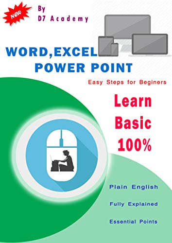 WORD, EXCEL, POWERPOINT: Easy Steps for Beginers (English Edition ...