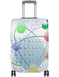 Preisvergleich für COOSUN Atomic Elemente Periodensystem Chemie Entwurfs-Druck-Reise-Gepäck Schutzabdeckungen Waschbar Spandex Gepäck...