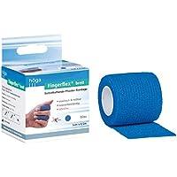 Höga Fingerflex breit, blau, 5 cm x 4.5 m gedehnt, Selbsthaftende Pflaster Bandage, elastisch & reißbar, wasserbeständig... preisvergleich bei billige-tabletten.eu