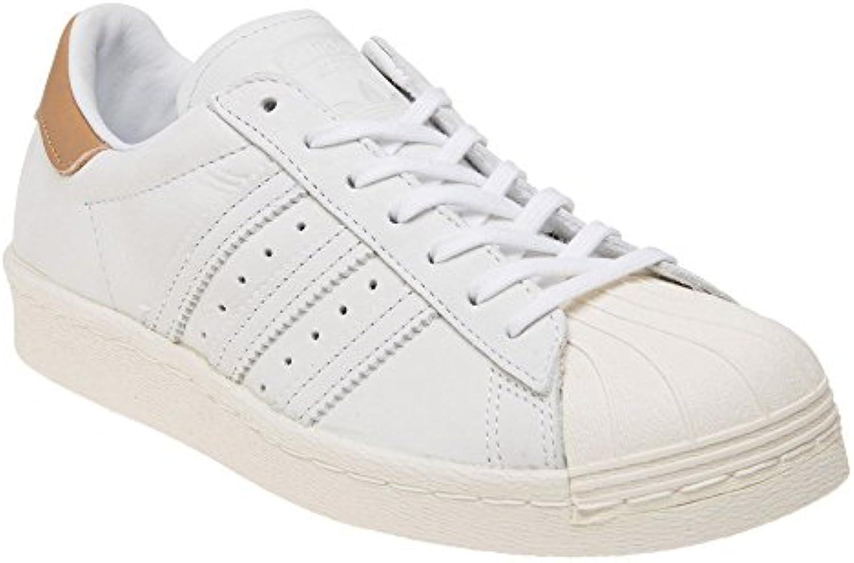 Adidas Superstar Mujer Zapatillas Blanco  Zapatos de moda en línea Obtenga el mejor descuento de venta caliente-Descuento más grande