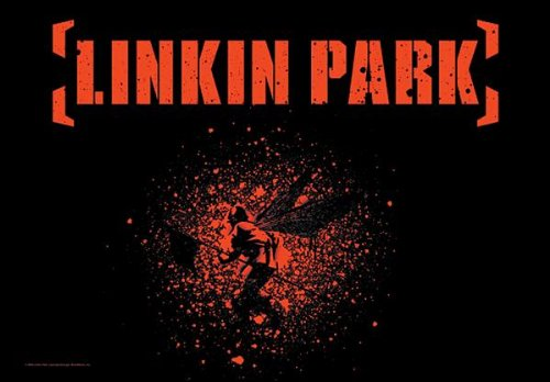 Linkin Park poster Bandiera-Bandiera SOLDIER orizzontale