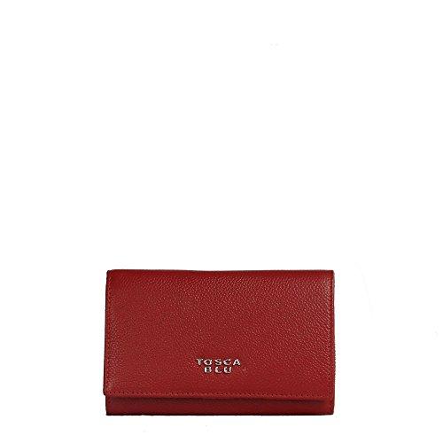Portafoglio medio Tosca Blu con pattina TF16BP105 rosso scuro