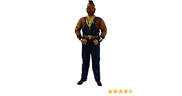 Cartoon Characters 80s Fancy Dress : Mens mr t ba baracus a team 1980s tv fancy dress 80s costume