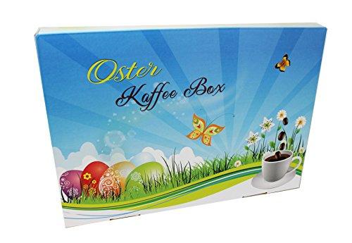 Frühling Garten Voll Latte (Oster Kaffee-Box, Ostern Geschenk - Tolle Box Mit 6 sagenhaften Kaffees á 65g (Ganze Bohnen, Osterkarton))