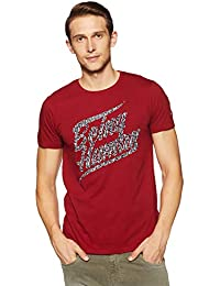 Being Human Men's Solid Slim Fit T-Shirt