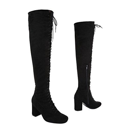 Ital-Design , Bottes classiques femme Noir