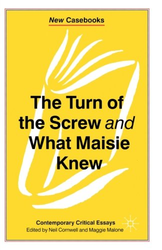 The Turn of the Screw and What Maisie Knew: Contemporary Critical Essays (New Casebooks) por Neil Cornwell