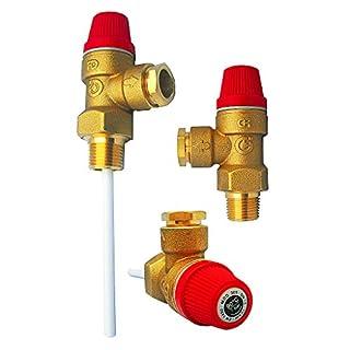 Altecnic Pressure And Temperature Relief Valve 7Bar 1/2 Tpr15