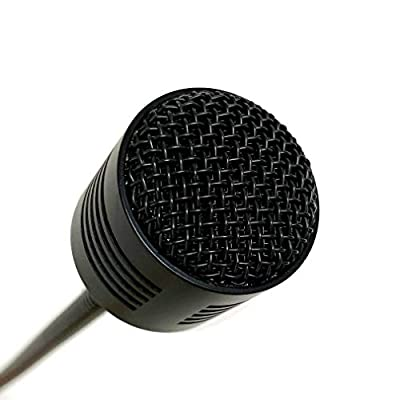 Gooseneck Microphone with 3 Pin XLR, 19 inches Wired, Not with Base, Dynamic for Live, DJ, Mixer Board, Karaoke, Conference, Studio, Stage, Audio Recording