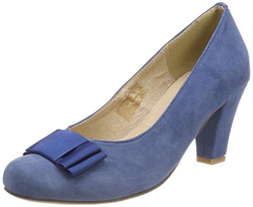 HIRSCHKOGEL by Andrea Conti Damen 1004504 Pumps, Blau (Jeans), 37 EU