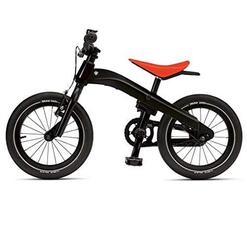BMW Original Kidsbike Laufrad Fahrrad (Schwarz)