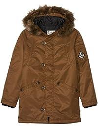 3e3073d9f1 Amazon.co.uk: Brown - Coats & Jackets / Boys: Clothing