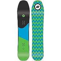 K2 Tabla de Snowboard Party Platter–Hombre–Negro, Negro, 150 cm