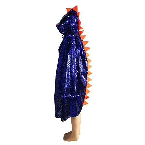 Dinosaurier Kostüm Show - Gychee Halloween Dekor Halloween Cosplay Kostüm, Halloween Mantel Kinder Maskerade Show Dress Up Kostüm Party Dinosaurier Cape Umhang