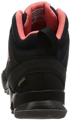 adidas Damen Terrex Ax2r Mid Gtx Wanderstiefel Schwarz (Negbas/negbas/rostac)