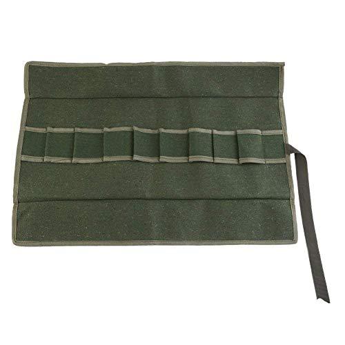 Yosoo Bonsai Werkzeuge Tasche Tasche Behandelt Multifunktions Werkzeug Roll Tasche Mechanische Utility Tool Tragetasche