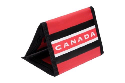 Team Canada Hockey Trifold Nylon Wallet -