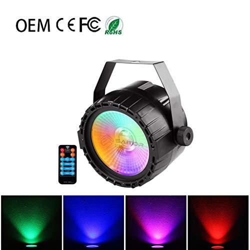 Discokugel, LED-Fernbedienung COB Oberfläche Licht RGB + UV-PA-Lichtleiste Licht KTV Disco Stage Disco F1 -