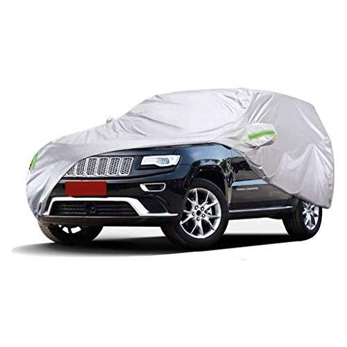 POLKMN Autoabdeckung SUV Dicker Oxfordstoff Indoor Outdoor Sonnenschutz Regendicht All Weather Protect (größe : 2014SRT) (Auto-alarm Für Cabrio)