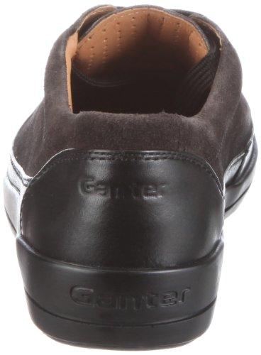Ganter Giulietta 2-204112, Sneaker donna Grigio (Grau/asphalt/schwarz)