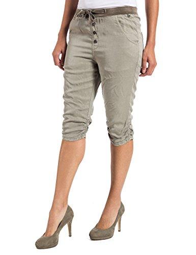 Timezone Damen Short LouTZ 3/4 pants Beige (nature beige 6122)