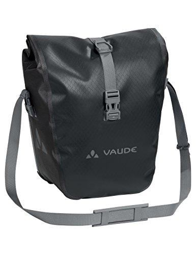 Vaude Aqua Front Vorderradtasche, Black, One Size