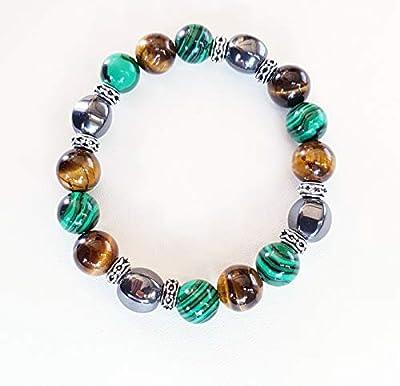 Bracelet naturel,lithothérapie, aide à lutter contre l'angoisse le stress.