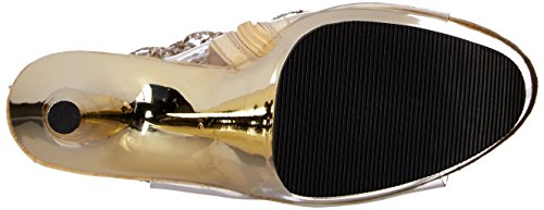 Pleaser Adore-1017rsf Clr-gold / Gold Chrome