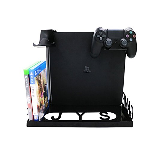 kugi-ps4-slim-konsolen-wandhalterung-ps4-xbox-one-s-konsolenstander-display-wandmontage-kit-mit-eins