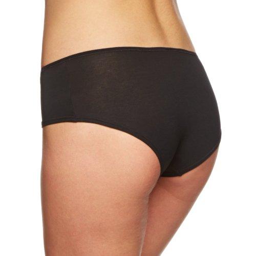 Skiny Damen Panties Essentials Light Panty Schwarz (7665 BLACK)