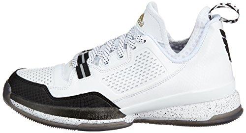 a0d89660a82 Adidas D Lillard Basketball Adiprene Sprintframe White Sports Mens ...