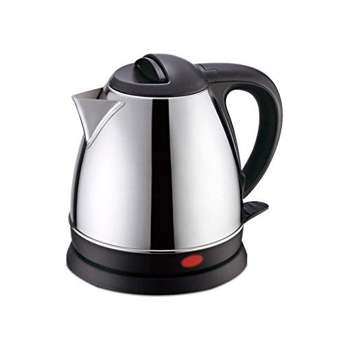 Bouilloire électrique de Petit thé de ménage - 1.2L Noir et Acier Inoxydable balayé