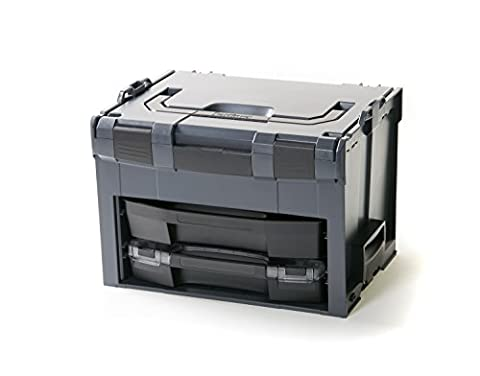 Bosch Sortimo LS-Boxx 306 anthracite with i-Boxx 72 C3 and ls drawer 72 + 33 8 oz-boxx mini