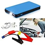 Best Battery Booster Packs - Tradico® TradicoBrand New Blue 12V 10000mAh Multi-Function Car Review