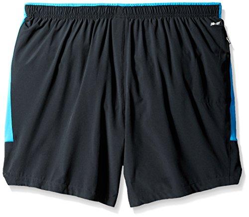 New Balance -  Pantaloncini sportivi  - Uomo Black