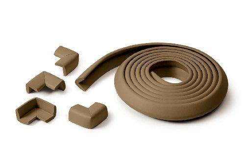 PRINCE LIONHEART Rotolo in spugna anti-choc + 4 angoli - cioccolato