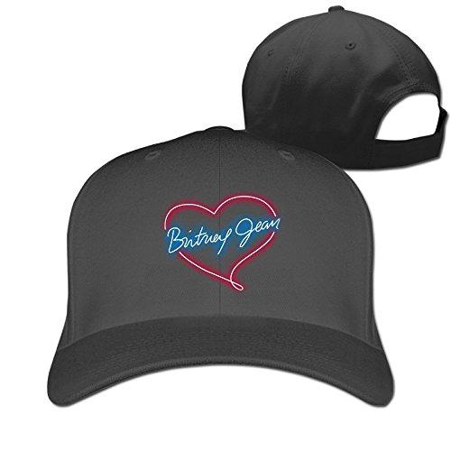 Hittings Britney Spears Adjustable Hunting Peak Hat/Cap Black -